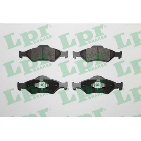 Pastiglie freno anteriore FORD FIESTA IV 1.0 1.25 i 16V 1.4 i 16V 1.8 DI KA 1.0 i 1.3 i MAZDA 121 III 1.25 1.8 D
