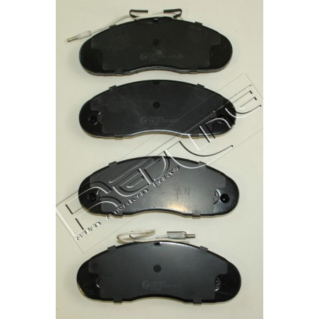 Pastiglie freno anteriore NISSAN TRADE 3.0 D 2.3 D 3.0 TDiC CABSTAR TRAFIC 2.1 D