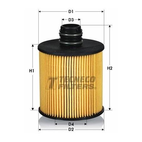 Filtro olio  ALFA ROMEO FIAT LANCIA OPEL SUZUKI JEEP: OL025083E