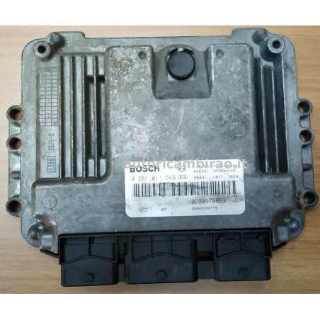 Centralina motore Renault Megane Scenic 2 1.9 DCI 120