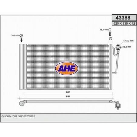 Condensatore, Climatizzatore MINI R56