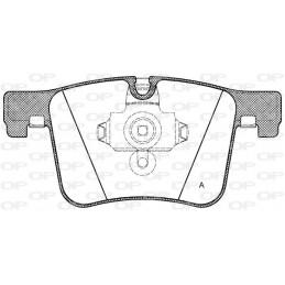 Pastiglie freno anteriore