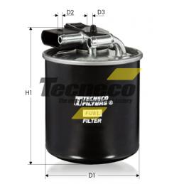 Filtro gasolio MERCEDES-BENZ
