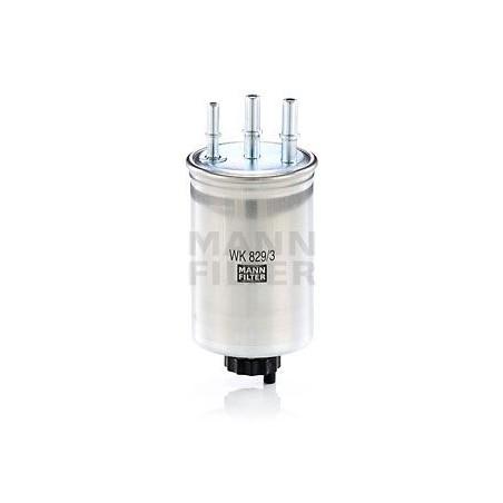 Filtro carburante GASOLIO  FORD JAGUAR SSANGYONG TATA HYUNDAI KIA: MANN-FILTER WK829/3