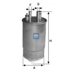 Filtro carburante OPEL: UFI...