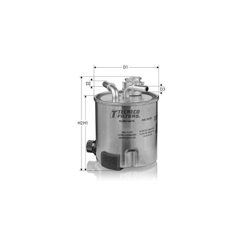 HERTH+BUSS JAKOPARTS J1331045 Filtro del carburante