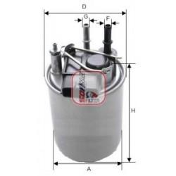 Filtro carburante NISSAN:...