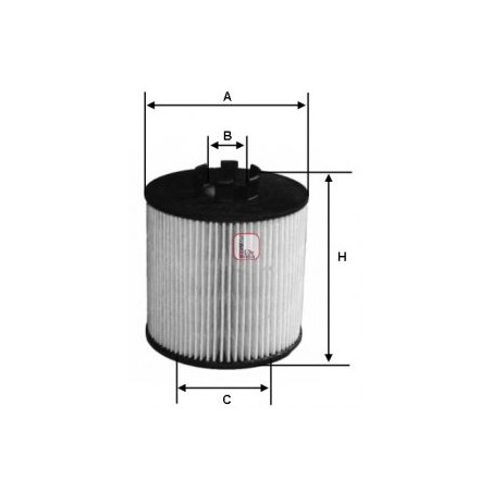 Filtro olio OPEL:  SOFIMA S5012PE