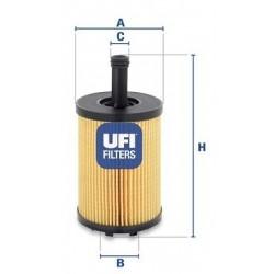 Filtro olio  AUDI CHRYSLER...